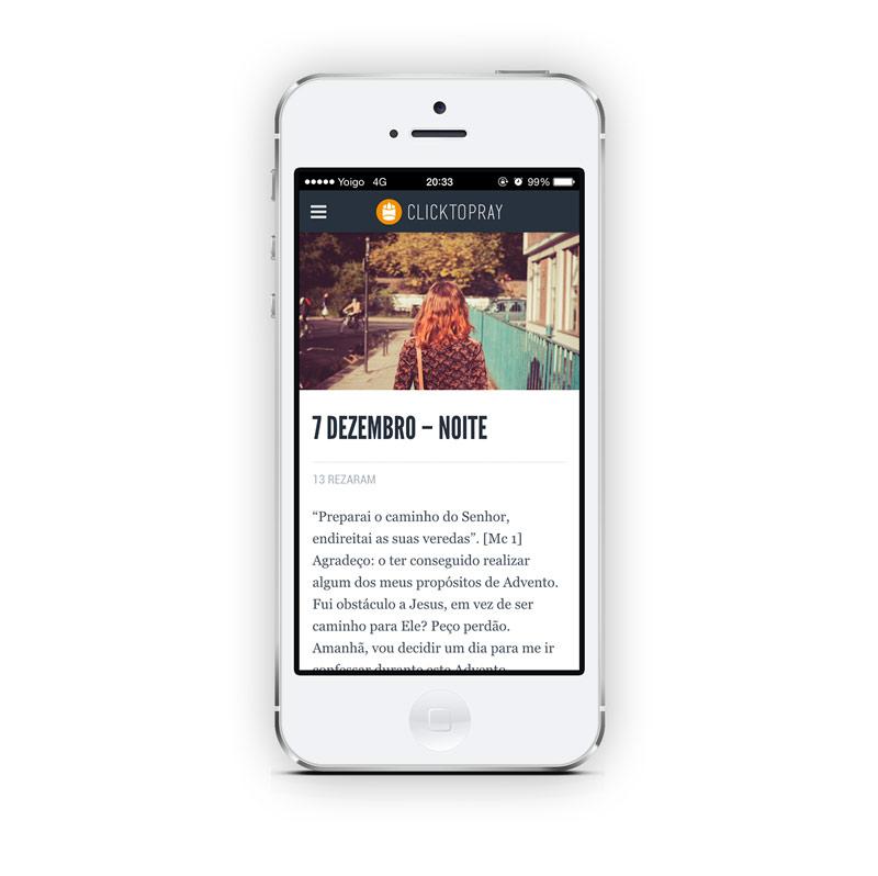 Portfolio-Click-To-Pray-app