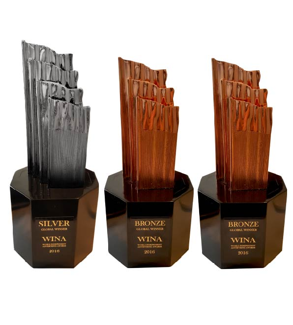 PREMIOS WINA 2016 - World Independent Advertising Awards