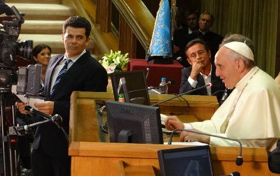 Papa Francisco Congreso Scholas