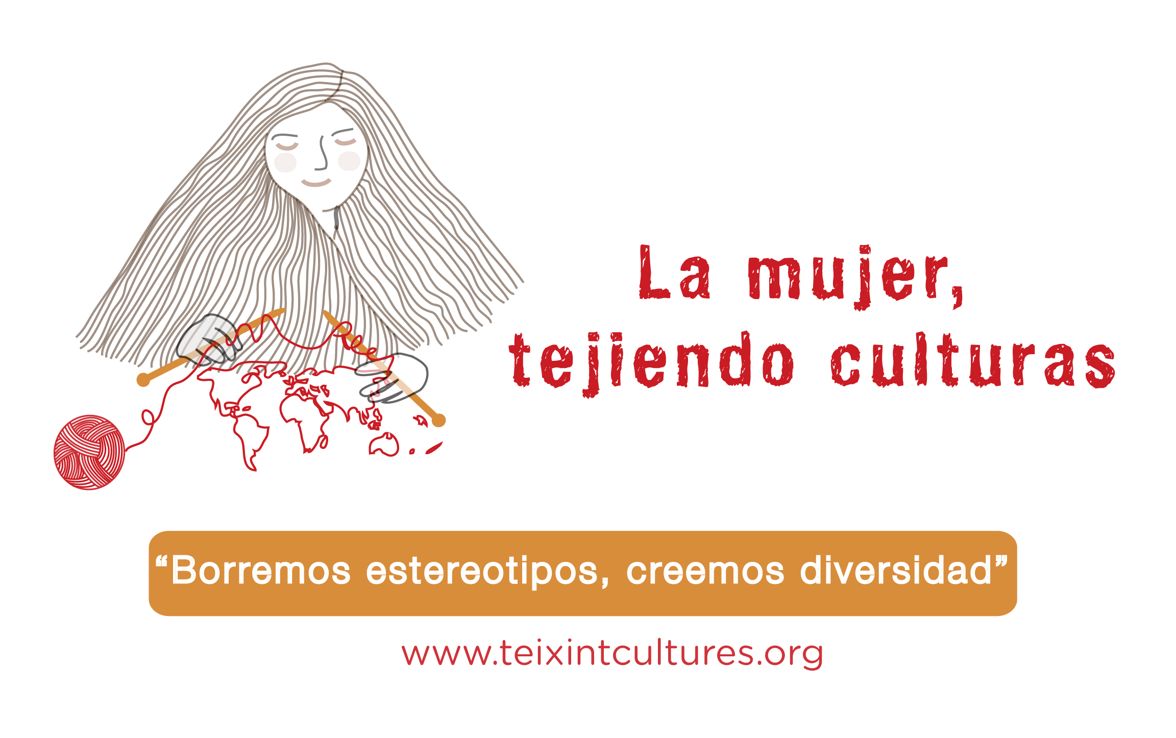 La mujer tejiendo culturas - imagen destacada