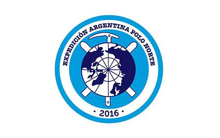 Logo Expedición Argentina al Polo Norte 2016
