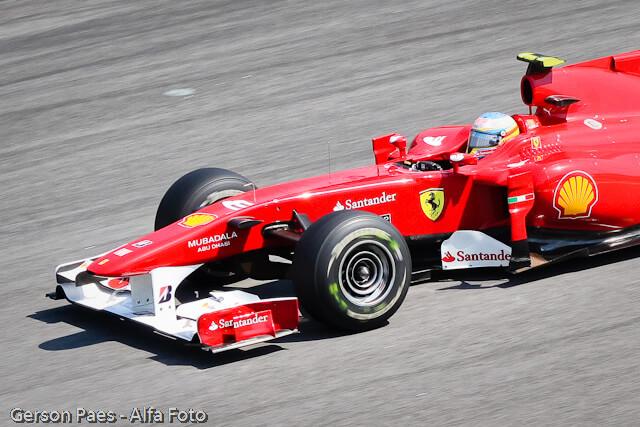 Patrocinios Banco Santander Ferrari