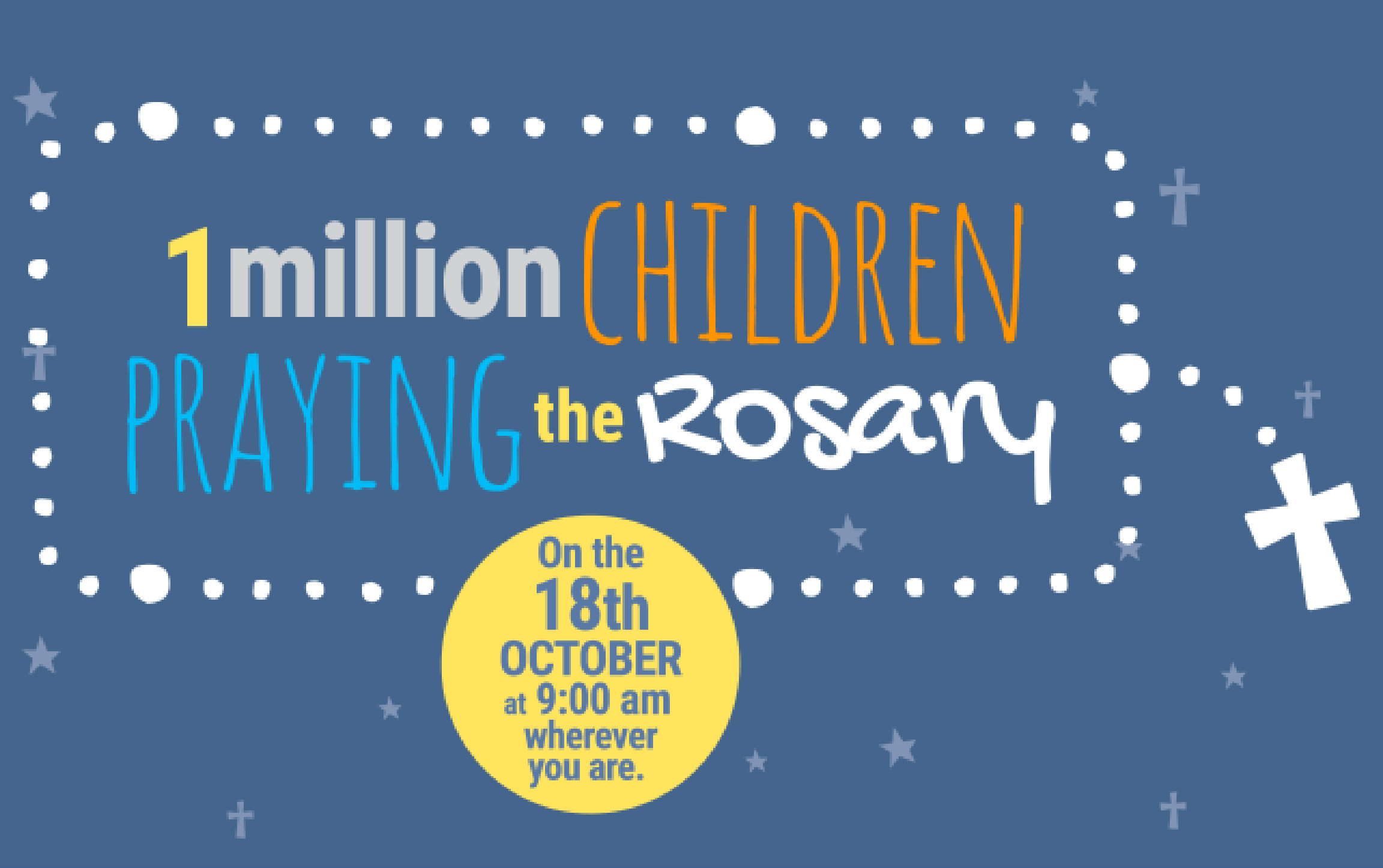 One million children praying the rosary