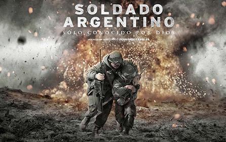 Imagen oficial: Soldado Argentino sólo conocido por Dios