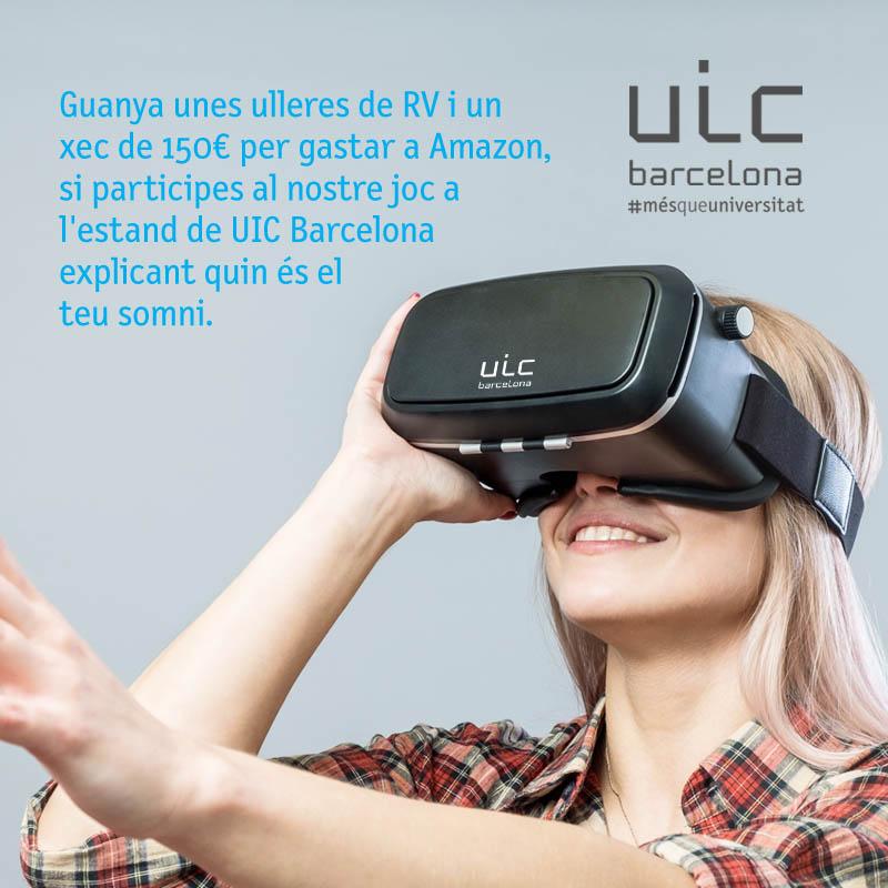 UIC Barcelona Realidad Virtual