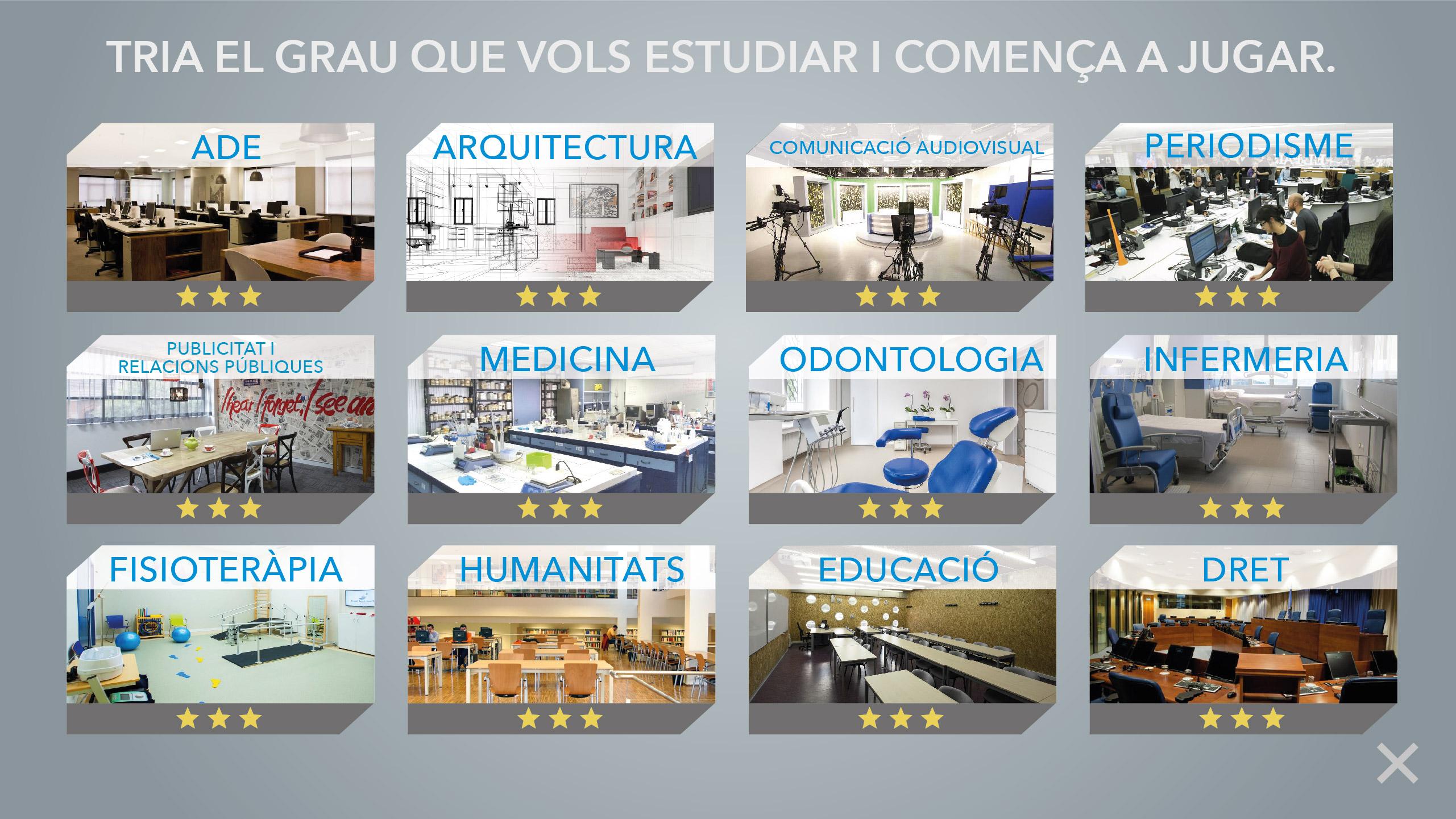UIC Barcelona Realidad Virtual (juegos)