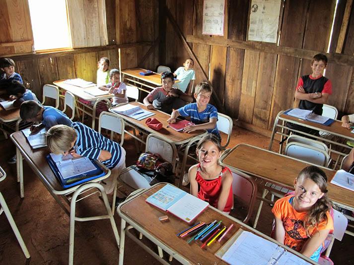 Fundación Más - escuelas rurales