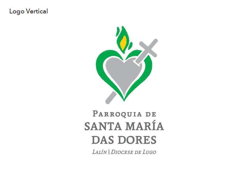Parroquia Santa María Das Dores (logo vertical)