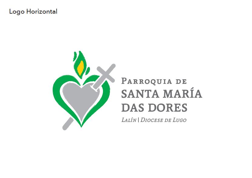 Parroquia Santa María Das Dores (logo horizontal=