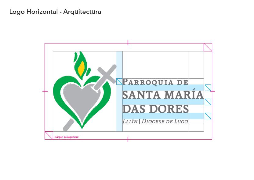 Arquitectura Logo Parroquia Santa María Das Dores