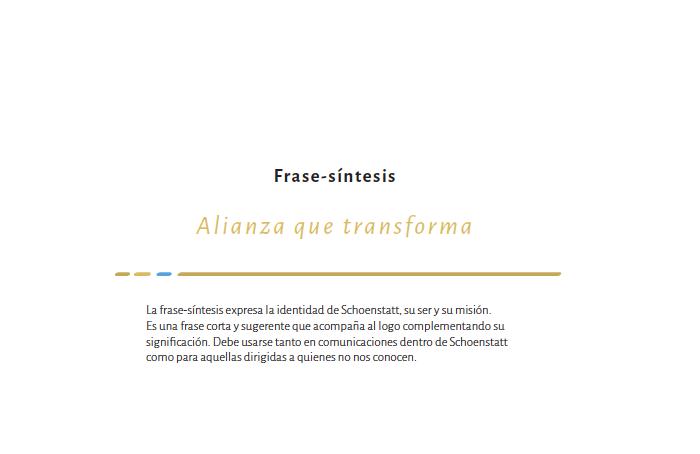 Schoenstatt Argentina (manual de marca)