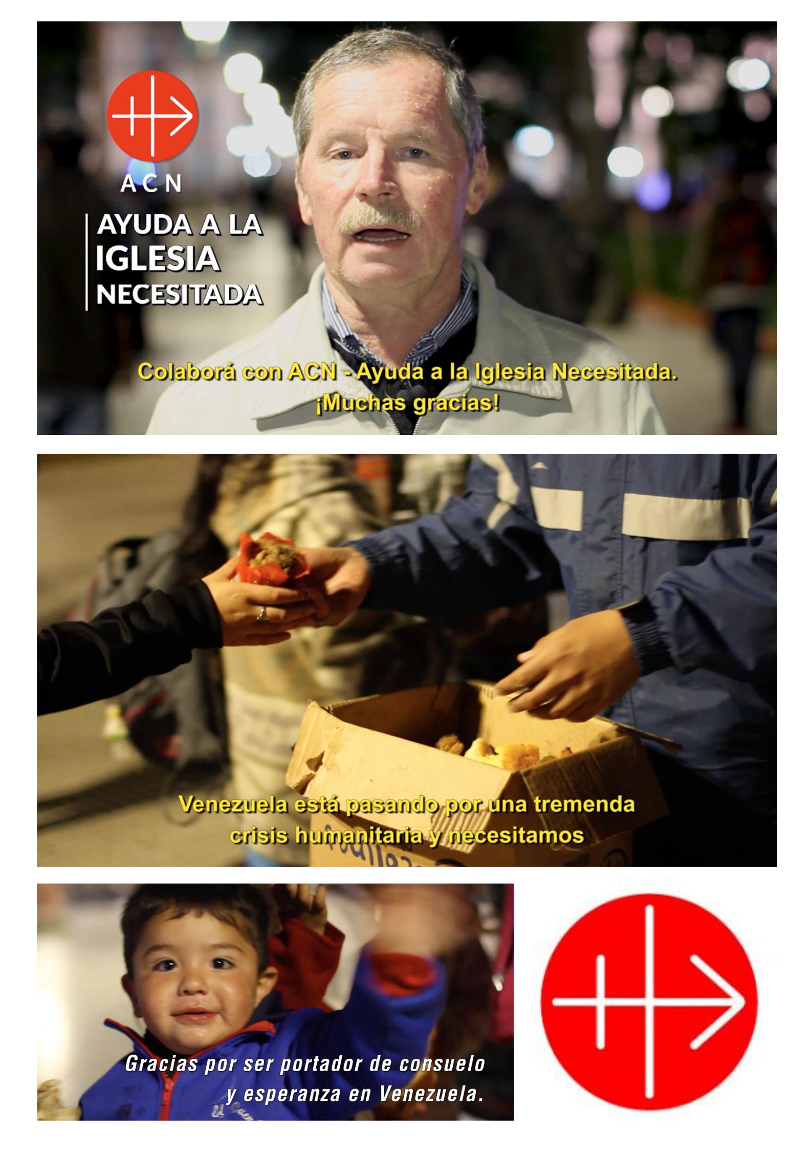 Campaña para ACN Venezuela (Ayuda a la Iglesia Necesitada)