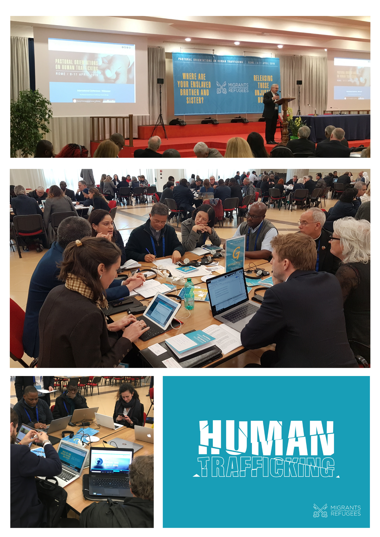 Images Pastoral Orientations on Human Trafficking 2019