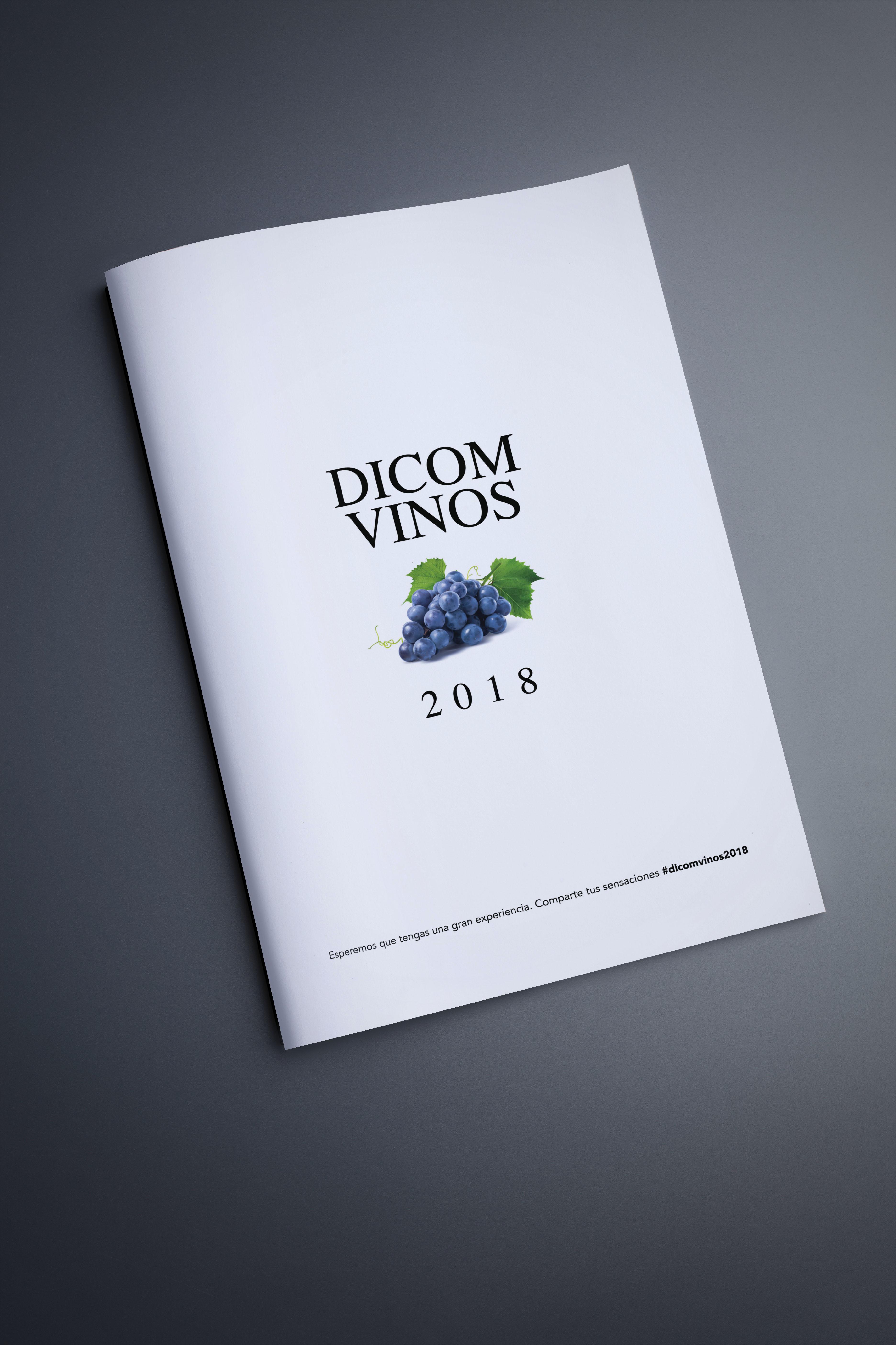 Mockup Folleto DICOM Vinos 2018