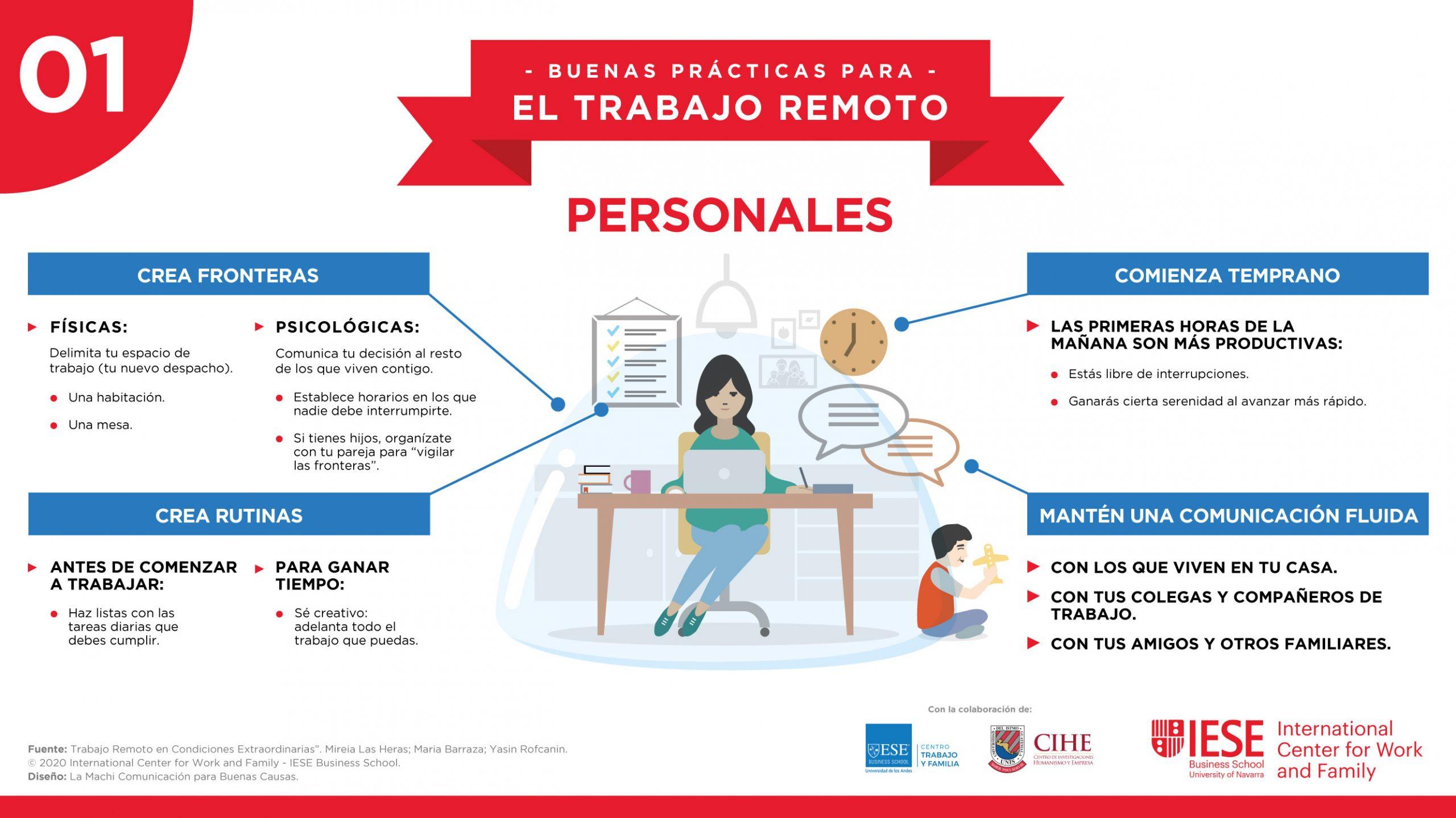 """Infografía para el IECE ICWF, temática """"Personales"""""""
