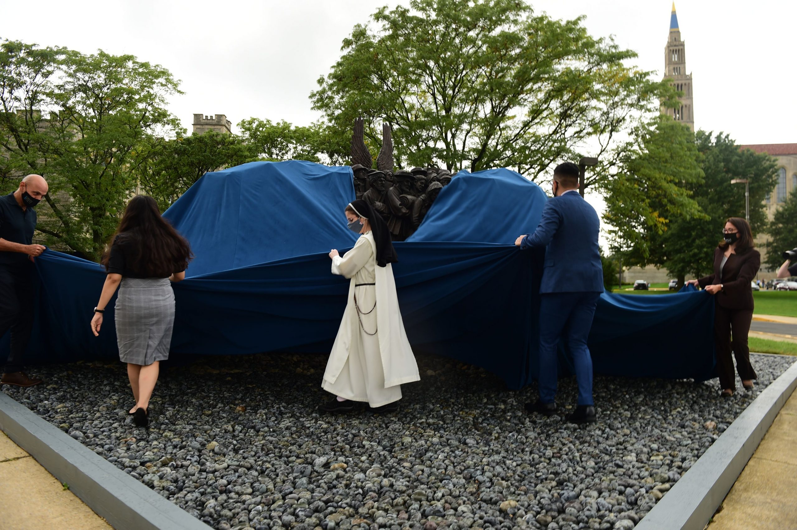 Unveiling of Angels Unawares in Washington D.C